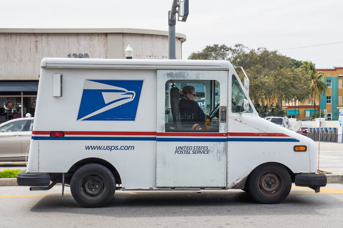 United States Postal Service Truck