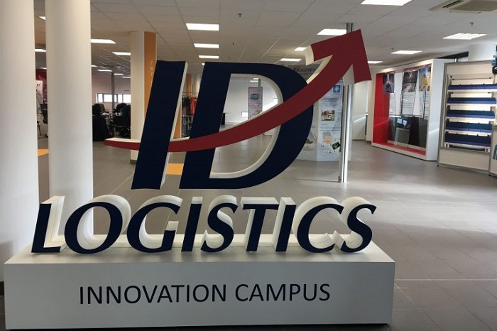 3D Logo ID Logistics Inovation Campus