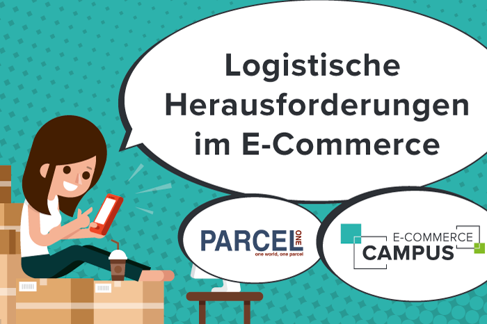 Illustration - Logistische Herausforderungen im E-Commerce