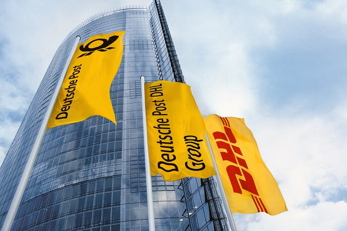 Deutsche Post DHL Flaggen