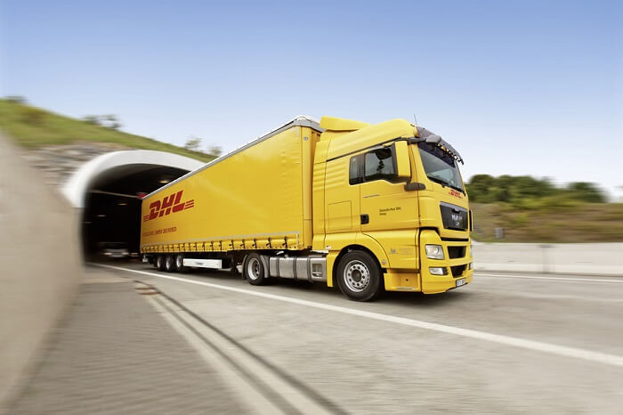 DHL Freight Truck