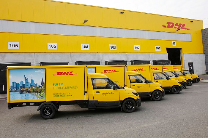StreetScooter am DHL Depot