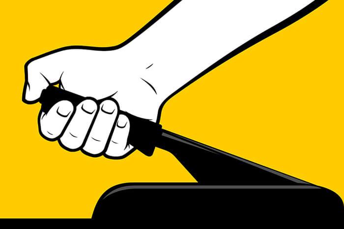 News-Bild Postbote haftet für Schaden durch nicht angezogene Handbremse