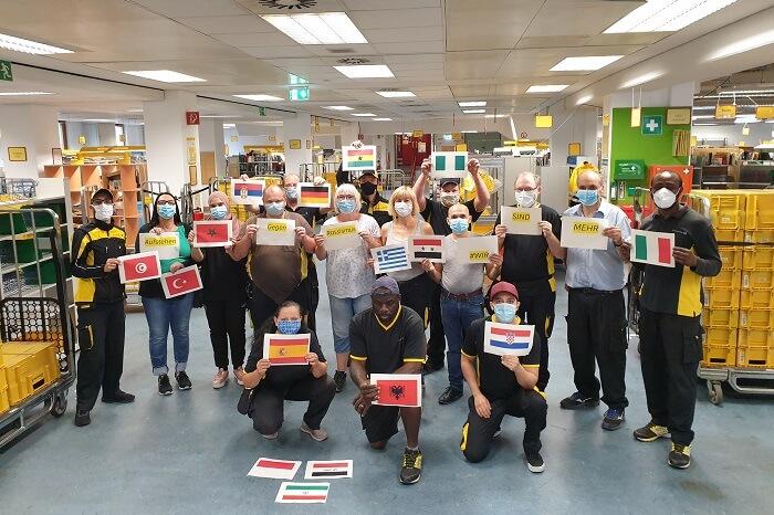 News-Bild DPDHL: Regionale Teams zeigen Haltung gegen Rassismus