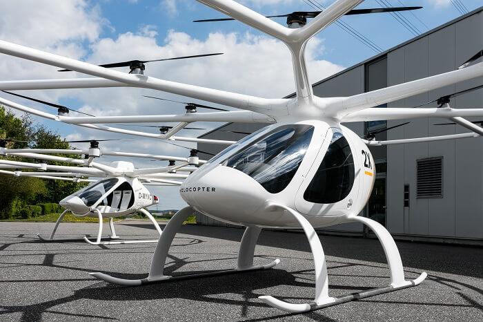News-Bild DB Schenker und Volocopter entwickeln Frachtdrohne