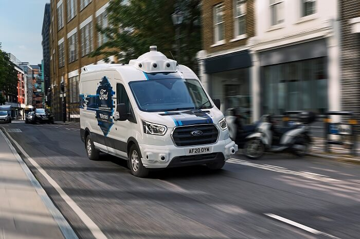 News-Bild Kooperation mit Ford: Hermes testet autonomes Lieferfahrzeug