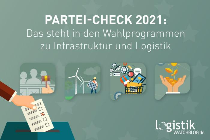 News-Bild Die Bundestagswahlprogramme im Logistik-Check