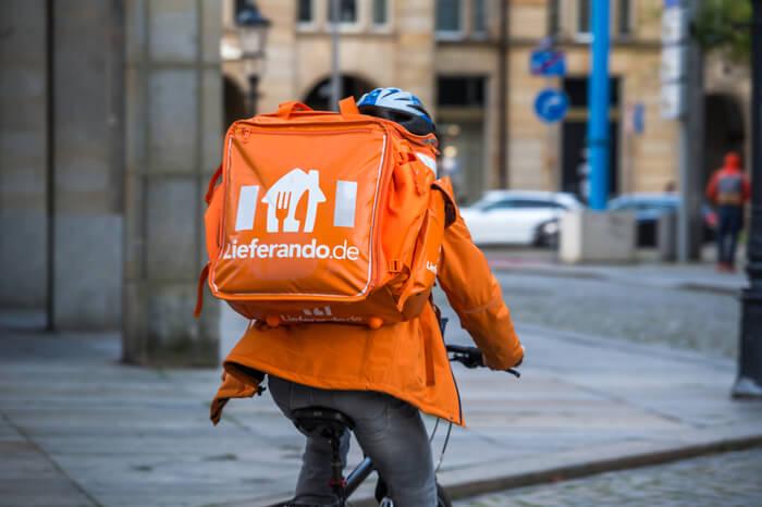 News-Bild Lieferando-Fahrer müssen nicht ihr eigenes Handy und Fahrrad nutzen