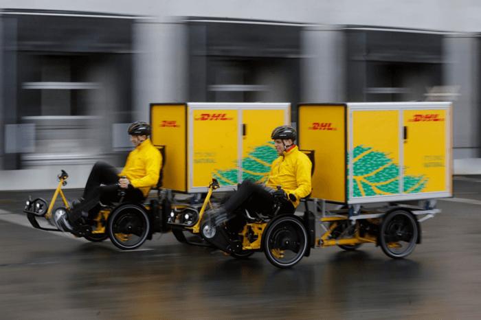 Lastenräder DHL