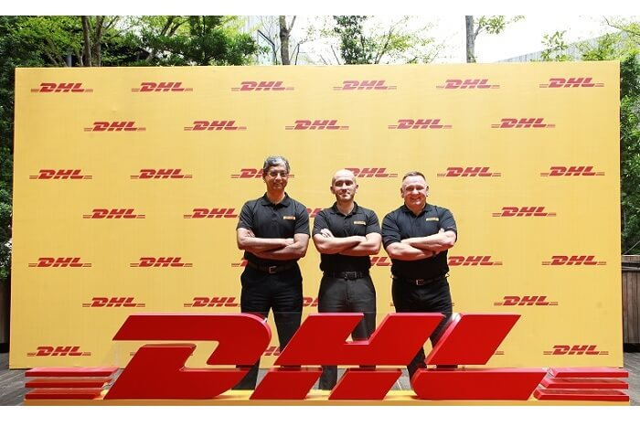 V.l.: Malcolm Monteiro, CEO, DHL eCommerce Asia Pacific; Thomas Harris - Managing Director, DHL eCommerce Vietnam; Charles Brewer - CEO, DHL eCommerce | © DHL