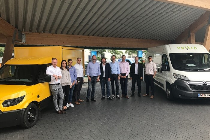 E-Transporter Selbsthilfegruppe - StreetScooter und Violta