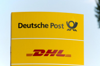 Deutsche Post DHL Schild