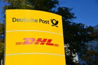 Deutsche Post DHL Group Schild