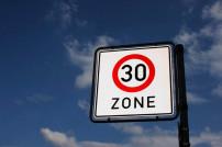 Schild 30-Zone