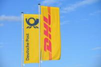 Fahnen Deutsche Post und DHL