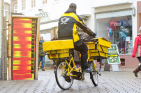 Briefzusteller Deutsche Post
