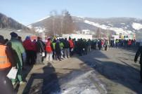 Lkw-Fahrer warten bei Einreisekontrolle nach Tirol