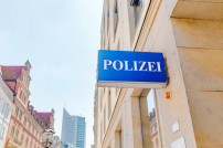 Polizeistation in Leipzig