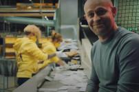Screenshot: Jürgen Vogel als neues Werbegesicht für Deutsche Post DHL Group
