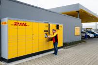 DHL Packstation Jet Tankstelle