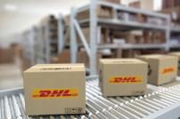 DHL Pakete Förderband