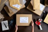 Paket verpacken