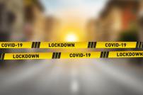 Absperrband Lockdown