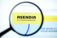 Asendia La Poste & Swiss Post - Webseite