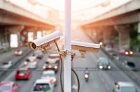 Kameraüberwachung Straße
