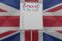 Brexit To Do Whiteboard
