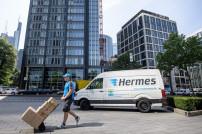 Hermes-Zustellung in Frankfurt