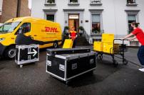 DHL bei den Abbey Road Studios