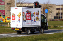Picnic Zusteller in den Niederlanden