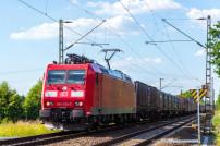 Güterzeug der Deutschen Bahn DB Cargo