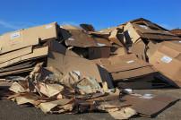 Recycling von Karton