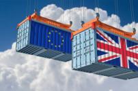 Frachtcontainer EU Großbritannien Brexit