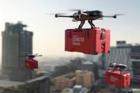Drohnen lieferrn Impfstoff