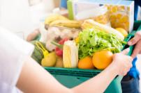 Lieferung von Lebensmitteln