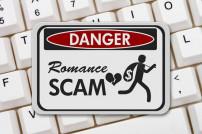 Romance Scam Warnung