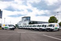 GLS-E-Fahrzeuge von Mercedes Benz