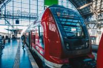Bald von neuen Streiks betroffen: Zug der Deutschen Bahn