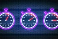 Stoppuhren mit 5, 10 und 15 Minuten