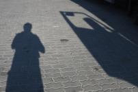 Schattenmann und Fahrertür