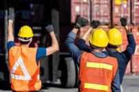 Streik in der Logistik (Symbolfoto)