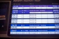 Fahrgastinformation Zug fällt aus
