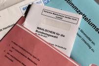 Briefwahlunterlagen Bundestagswahl