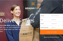 Amazon Flex startet.