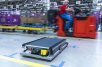 BMW testet autonome Roboter in der Intralogistik