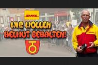 Facebook: DHL Wir wollen Helmut behalten, Screenshot