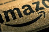 Nahaufnahme Amazon-Paket